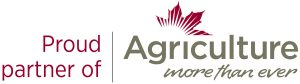 Proud partner of Agriculture more than ever logo