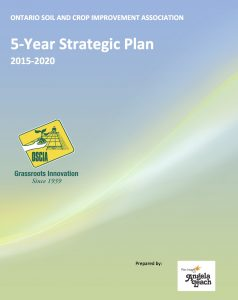 Cover page of 5-year Strategic Plan