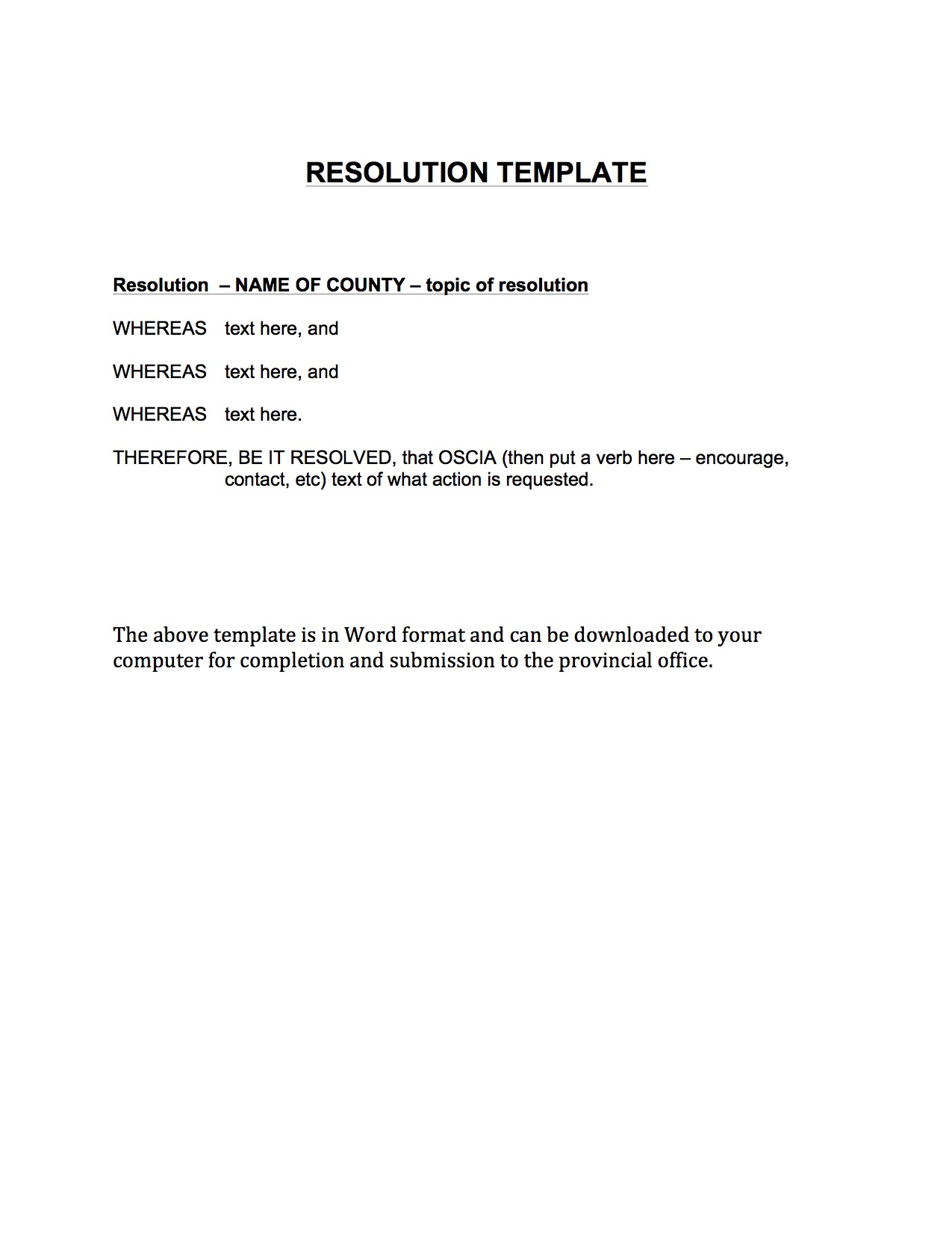 Resolutions resolutions oscia here you can find resolution template altavistaventures Choice Image