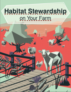 Habitat Stewardship On Your Farm activity book coverpage
