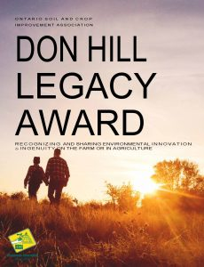 Don Hill Legacy Award cover page