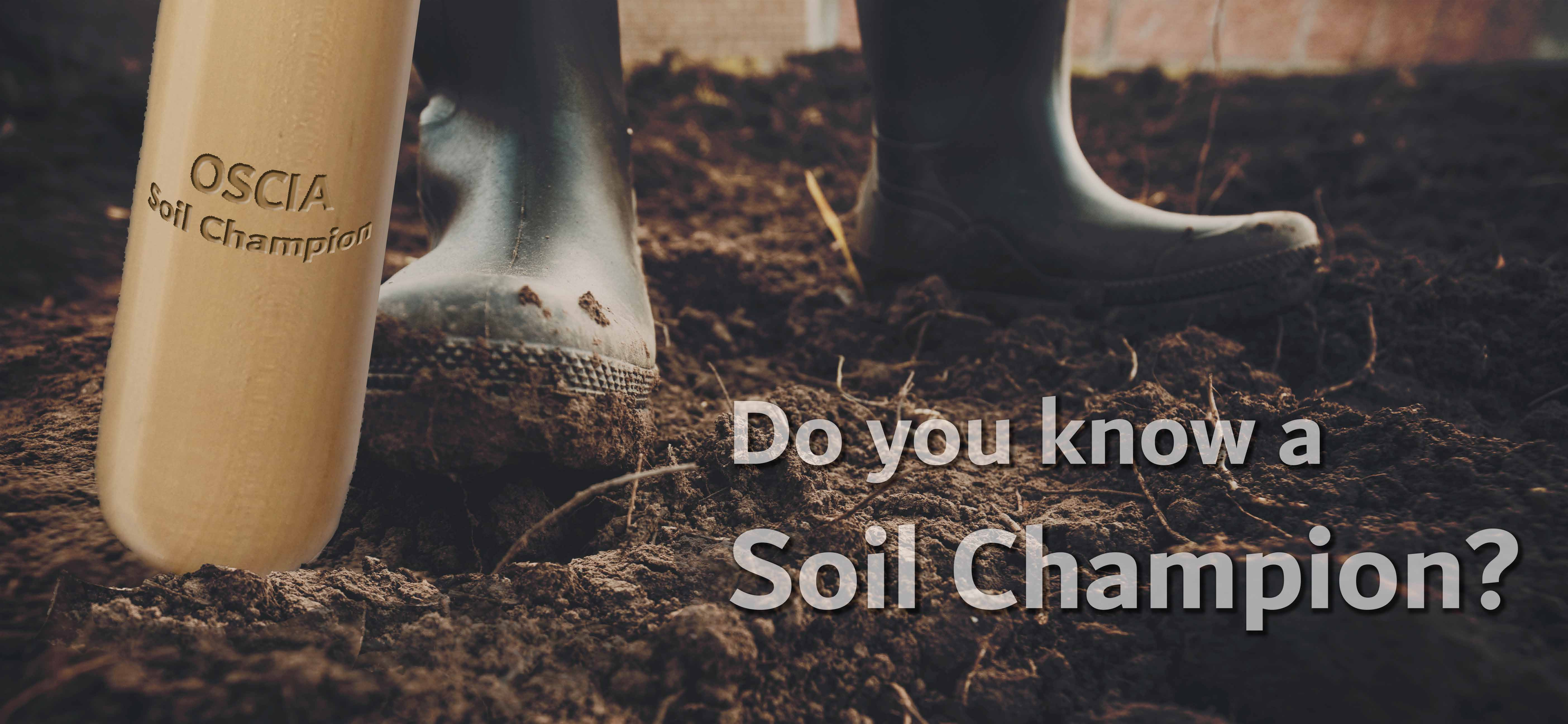 Do you know a Soil Champion - page header