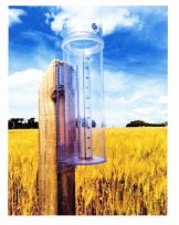 Rain collection device in field