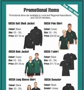 Promotional Supplies list