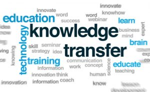 Knowledge Transfer word image