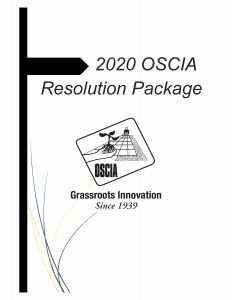 2020 OSCIA Resolution package