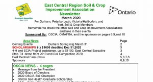 East Central Regional Newsletter - March 2020