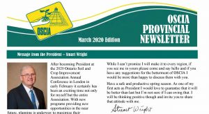 OSCIA Provincial Newsletter - March 2020